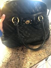 AUTHENTIC MARC BY MARC JACOBS MARGOT BLACK LARGE Quilted Shoulder Bag Tote Bag