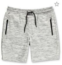 Ocean Current Magnetic Grey Sweat Shorts, XL