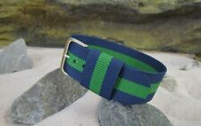 RAF Military Style Strap w/ Gold Hardware (Floating Keeper) By NATO Strap Co.(℠)