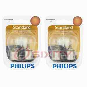 2 pc Philips P21WB2 Tail Light Bulbs for 77862 Electrical Lighting Body jq