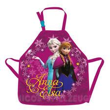 Frozen Anna und Elsa Kinder Bastelschürze Schürze Malschürze Werkschürze bordo
