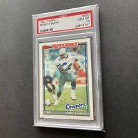 Emmitt Smith 1991 Topps #360 Dallas Cowboys Super Rookie Card PSA 10 Gem Mint