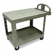 Rubbermaid Hd Flat Shelf Utility Cart 44 X 25
