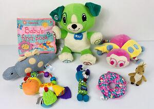 Baby Toddler Toy Bundle | 8 Pieces | Leapfrog Playgro Usborne Jack N Jill Lot 3