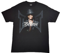 "Original Men's TAPOUT TRIBUTE MMA Shirt ""BELIEVE"" -TSHIRT Black Retro"