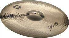 """Stagg 20"""" DH Double Hammered Medium Ride Cymbal DH-RM20B"""