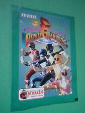Bustina Figurine Stickers Power Rangers Merlin 1994  Packet Tüten Pochette CF
