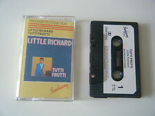 LITTLE RICHARD TUTTI FRUTTI CASSETTE TAPE 1983 PAPER LABEL BREAKAWAY  UK