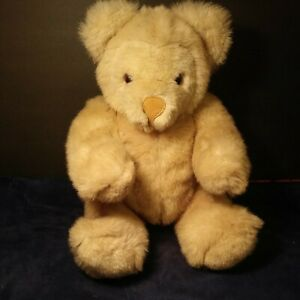 """Vintage Teddy Bear fully jointedHead moves 20"""" tall Absolutely Adorable See pic"""