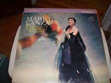 MARIO LANZA LOVE SONGS & A NEAPOLITAN SERENADE-LP-NM-ITALY-STEREO