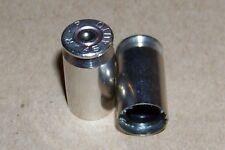Bullet Valve Stem Caps (2) Nickel .45 Caliber ACP SET OF 2