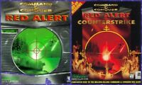 COMMAND & CONQUER RED ALERT & COUNTERSTRIKE + Windows 10 8 7 Vista XP Install