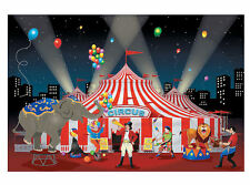 CARNIVAL Circus Big Top BANNER Party Decoration BACKDROP Photo BOOTH Prop