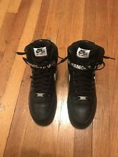 Supreme Air Force 1 High black size 9 world famous 2014