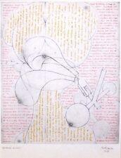 "HANS BELLMER mounted print, 1954, Doll study, Poupée surrealist erotic, 12 x 10"""