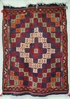 Vintage Turkish Balikesir Kilim Jijim 'Wishing Rug'
