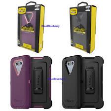 OtterBox Defender Rugged LG G6 Case w/Holster Belt Clip (Black & Plum Purple)