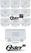 WHOLESALE LOT 10-Oster A5/A6 Cryogen-X #50 Blade*Fit Most Andis,Wahl Clipper