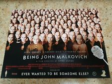 Being John Malkovich movie poster - John Malkovich - 12 x 16 inches