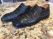 Avventura Manressa Alligator Crocodile Men's Loafers Dress Shoes 9M