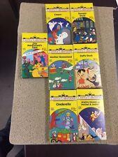 Castle Cartoons 1988 Lot 7  VHS Daffy Duck Cinderella Casper Videos and more P31