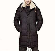 DOLCE & GABBANA Wool Shearling Collar Down Puffer Coat Jacket 48 M Medium $3,200
