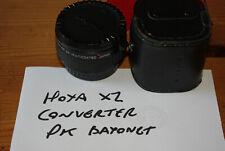 Hoya 2x Tele para Pentax KM (montaje de enfoque manual) - polvo