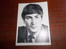 THE BEATLES TOPPS T.C.G. GUM TRADING CARD BLACK & WHITE 1st SERIES CARD NO. 2