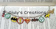 Bracelet Harley Quinn Batman vert lantern wonder woman flash comics