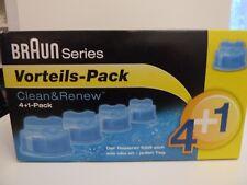 BRAUN CCR4 + 1 = 5 Stück Reinigungskartuschen CCR5 CCR 4+1 = 5 Clean&Renew CCR