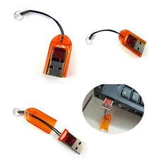 2xMicro SD SDHC TF USB2.0 Lector Tarjeta Memoria Flash Mini Adaptador a Portátil