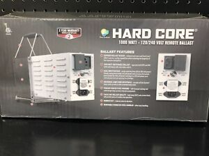 "Sun System remote ballast 1000wt 120/240 volt 8"" power cord"