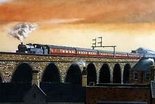 MANSFIELD VIADUCT NOTTINGHAMSHIRE SIGNED PRINT THE PARNHAM GALLERY