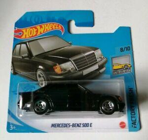 Mercedes-Benz 500 E Hot Wheels 2021 Factory Fresh 8/10 Mattel Nuevo