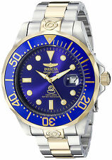 @NEW Invicta 47mm Grand Diver Automatic Stainless Steel Bracelet Watch 3049