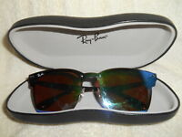 16959fa025 RAY-BAN Unisex RB3576-N Wayfarer Flat Sunglasses WITH HARD CASE NICE FROM  ITALY