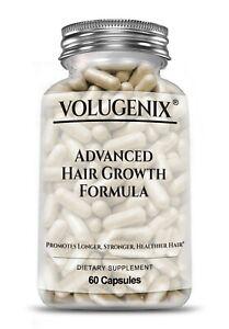VOLUGENIX Advanced Hair Growth Vitamins Biotin Hair Loss Supplements Men & Women