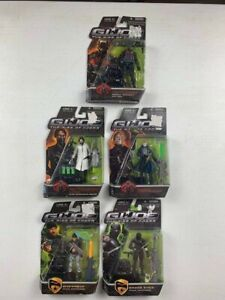 GI Joe The Rise Of Cobra 5 Action Figure Lot