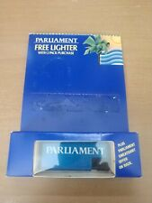 Parliament Cigarettes Blue Refillable Lighter New in Package 266