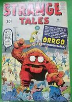 Strange Tales #90 Steve Ditko Jack Kirby Stan Lee Marvel / Atlas Comics 1961 GD