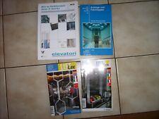 Aufzüge und Fahrtreppen. Technik, Planung, Design... Buch OTIS Wörterbuch Bücher