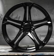 "20"" 20x10/20x11 5x120 MRR M017 Wheels For Chevy Camaro SS RS Gloss Black Rims 4"