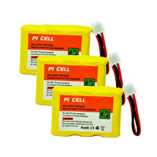 3pcs Cordless Phone Battery Replacement NiCd 2/3AA 450mAh 3.6V for ATT AT&T 2422