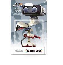 R.O.B. Rob Robot Amiibo Famicom Color Edition Figure Super Smash Bros NA Version