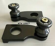 BMW S1000RR, S1000R  2014 - 2018  R&G Racing black cotton reels bobbins