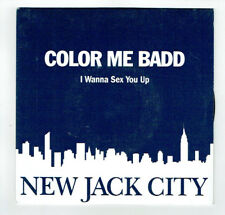 """COLOR ME BADD Vinyl 45T 7"""" I WANNA SEX YOU UP - NEW JACK CITY - GIANT 19276"""