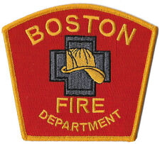 BOSTON FIRE DEPARTMENT DISTRICT 3 CHIEF PATCH FIRE BUSTERS