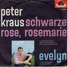 7inch PETER KRAUS schwarze rose, rosemarie GERMAN EX WOC