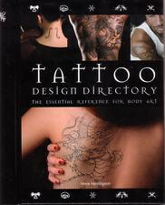 TATTOO Design Directory Vince Hemingson **NEW COPY**