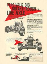 Vintage 1960 Percival Hellcat/Wildcat Go-Kart Ad